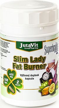 JutaVit Slim Lady Fat Burner 100 kapsúl