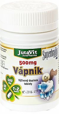 JutaVit Vápnik 500mg 50 tabliet