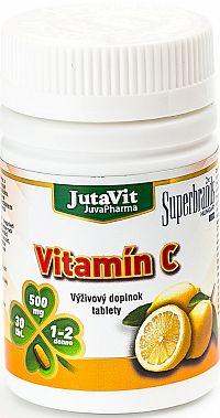 JutaVit Vitamín C 500 30 tbl