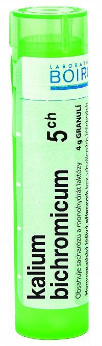 Kalium Bichromicum CH5 granule 4g