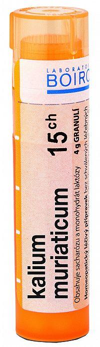 Kalium Muriaticum CH15 granule 4g