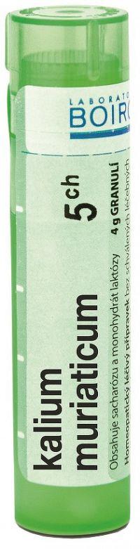 Kalium Muriaticum CH5 granule 4g