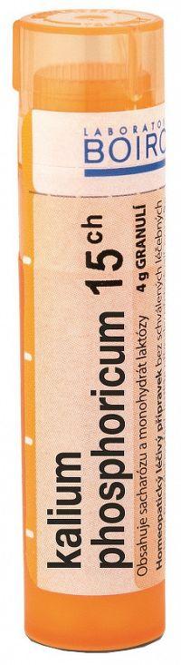 Kalium Phosphoricum CH15 granule 4g