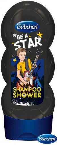 Kids šampón a sprchovací gél 2v1 Be a star 230ml