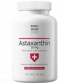 KIWU WUKI Astaxanthin 25 mg 60 kapsúl