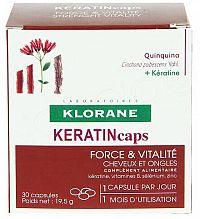 KLORANE KERATINcaps 30cps