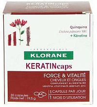 KLORANE KERATINcaps cps 1x30 ks