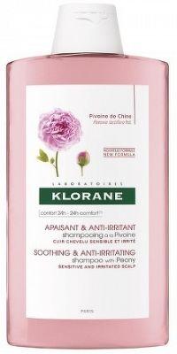 KLORANE SHAMPOOING À LA PIVOINE šampón na citlivú a podráždenú vlasovú pokožku 1x400 ml