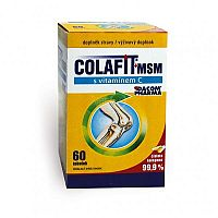 KOLAGEN s vitamínom C + MSM 60 cps
