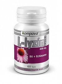 kompava L-LYZÍN EXTRA 400mg 60 kapsúl