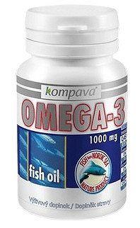 kompava OMEGA-3 1000 mg 100cps