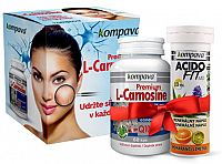 Kompava Premium L-Carnosine 60 kapsúl +AF10 tabliet pomaranč