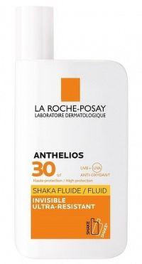 LA ROCHE-POSAY ANTHELIOS SHAKA FLUIDE SPF30 ultrafluidný opaľovací krém 1x50 ml