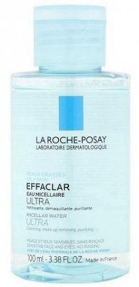 LA ROCHE-POSAY EFFACLAR MICELLAR ULTRA čistiaca voda 1x100 ml