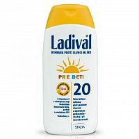 LADIVAL Children SPF 20 ochranné telové mlieko 1x200 ml