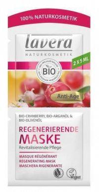 lavera Regenerujúca Pleťová maska Brusnica 2x5 ml