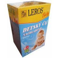 LEROS BABY DETSKÝ ČAJ NACHLADENIE bylinný 20x2 g