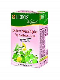 Leros Natur Detox pročisťujúci čaj s vilcacorou 20x1,5g