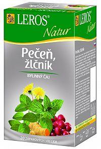 LEROS Natur Pečeň a žlčník čaj 20x1,5g