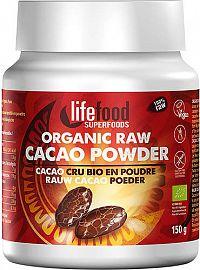 Lifefood Kakaový prášek nepražený BIO RAW 150g