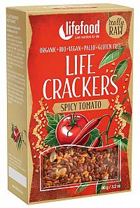 Lifefood Life Crackers Mexické BIO RAW 90g