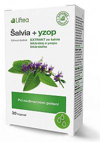 LIFTEA Šalvia+Yzop 30cps