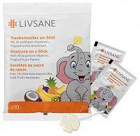 Livsane Lízanky s dextrózou 10 ks