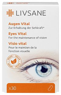 LIVSANE Podpora pre zdravé oči 30cps