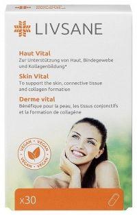 LIVSANE Podpora pre zdravú pokožku cps 1x30 ks