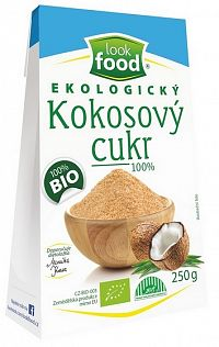 Look Food Ekologický kokosový cukor 100% 250g