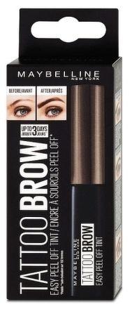 Maybelline Tattoo Browsemi-permanentní gelová barva na obočí Chocolate brown 25 4,6 g g