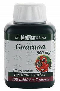 MedPharma Guarana 800mg 100+7tbl zadarmo