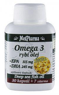 MedPharma Omega 3 rybí olej Forte tabliet 37