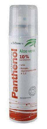 MedPharma PANTHENOL 10% CHLADIVÝ SPREJ Sensitive, s Aloe vera 1x150 ml