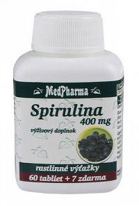MedPharma SPIRULINA 400 MG tbl 60+7 zadarmo
