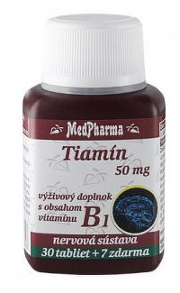 MedPharma TIAMÍN 50 mgtbl 30+7 zadarmo