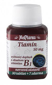 MedPharma Tiamín 50mg 30+7tbl zadarmo