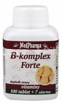 MedPharma VITAMÍN B12 50 µg tbl 100+7 zdarma
