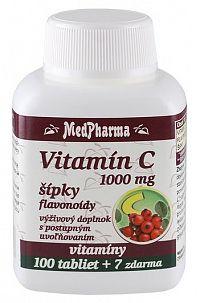 MedPharma Vitamín C 1000mg s šípky 107 tabliet