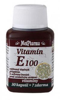 MedPharma VITAMÍN E 100 cps 30+7 zadarmo