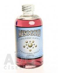 MesoGold koloidné zlato liq der 250 ml