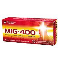 MIG-400 tbl flm 400 mg 10 ks
