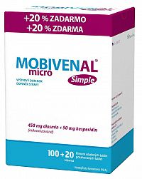 MOBIVENAL micro Simple 100+20tbl