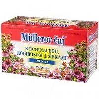 Müllerov čaj S ECHINACEOU ROOIBOSOM A ŠÍPKAMI bylinný čaj 20x1 5 g