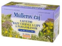 Müllerov čaj s kvetmi bazy lipy a pamajoranom 20x1,5g