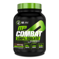 MusclePharm Combat 100% Isolate 2270 g chocolate - 1814 g