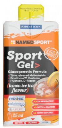 Named Sport Sport Gel 25ml - citrónový ľadový čaj
