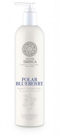 Natura Siberica Siberie Blanche Polárna čučoriedka skrášlujúci sprchový gél 400 ml