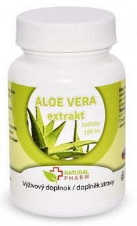 Natural Pharm Aloe Vera 100 tabliet