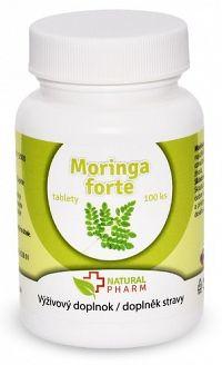 Natural Pharm Moringa Forte tablety 100 ks